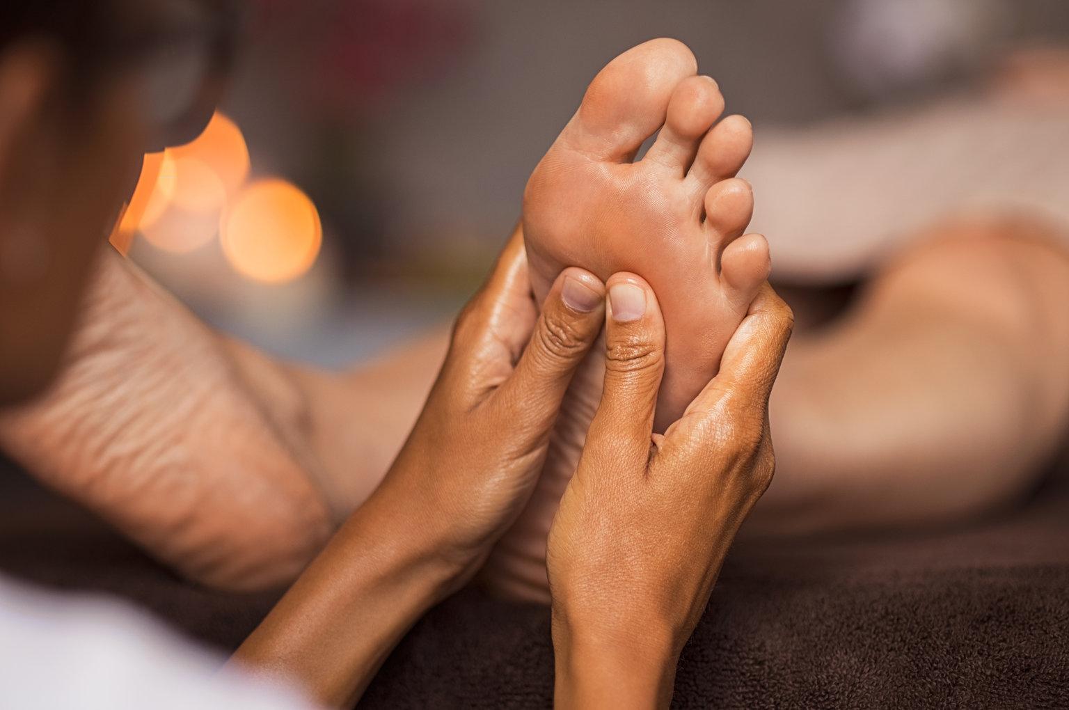 Voet Reflexzontherapie